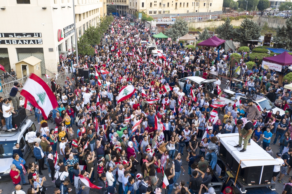 Protest in Lebanon