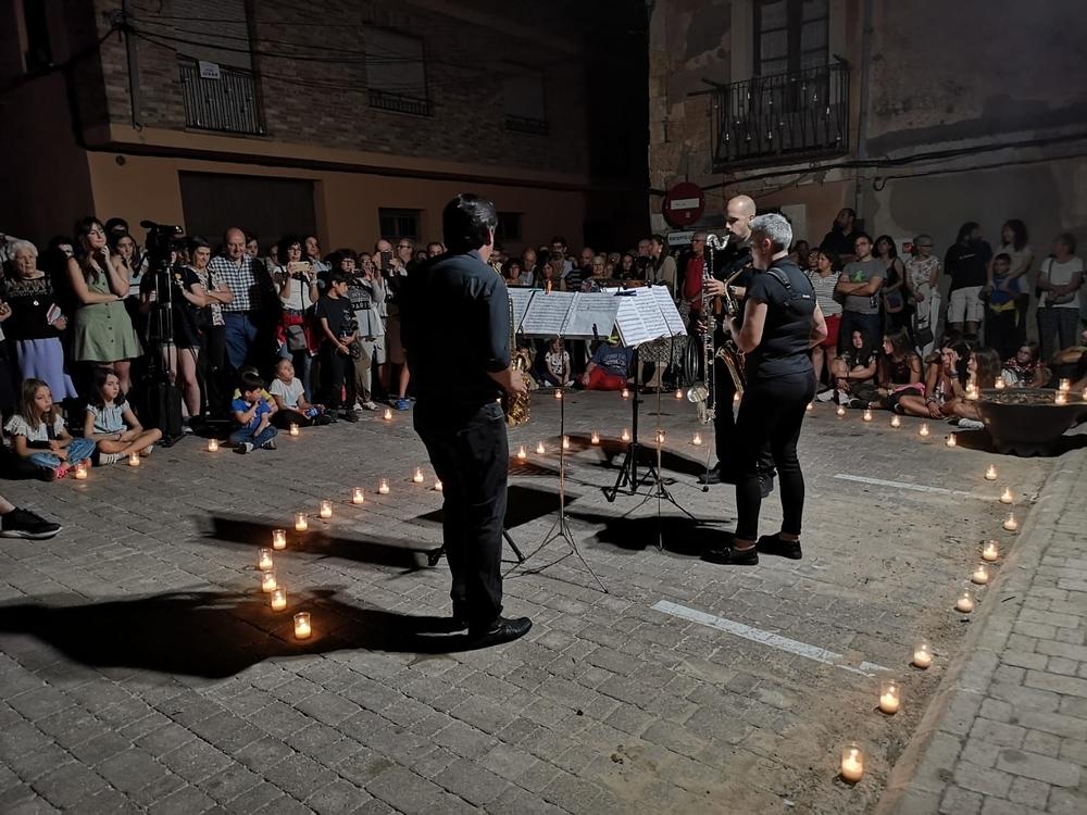 San Esteban de Gormaz enciende su noche de música y velas