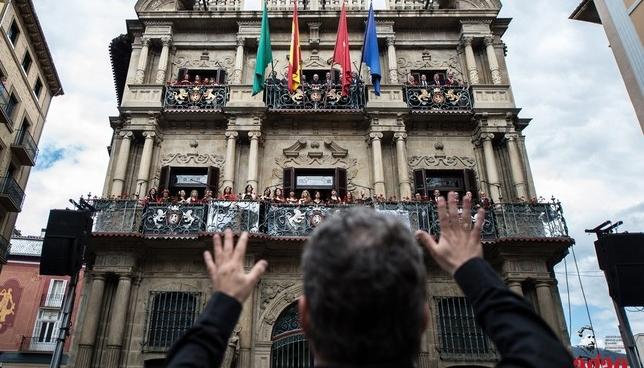 La música de AGAO, desde los balcones del Ayuntamiento Daniel Sánchez-AGAO