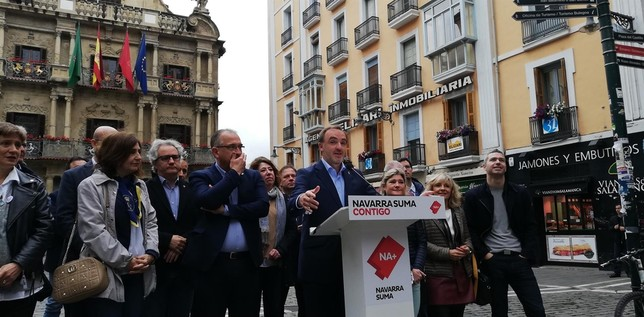 "Esparza asegura que ""el nacionalismo vasco"" va a desaparecer"
