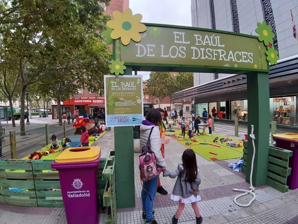 El Corte Inglés se suma a las fiestas con su parque infantil