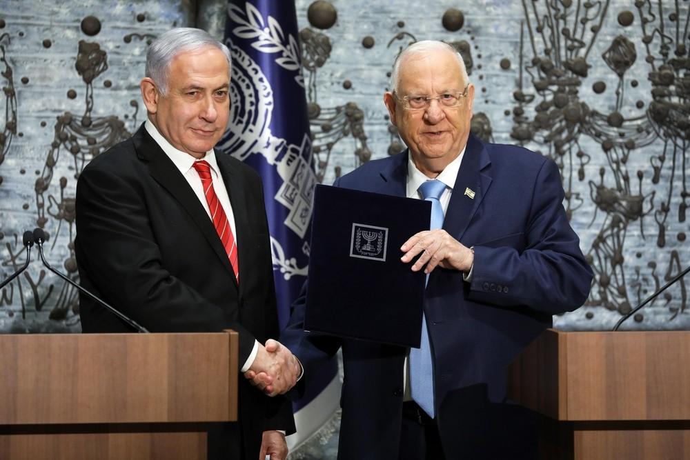 Netanyahu recibe el encargo de intentar formar Gobierno