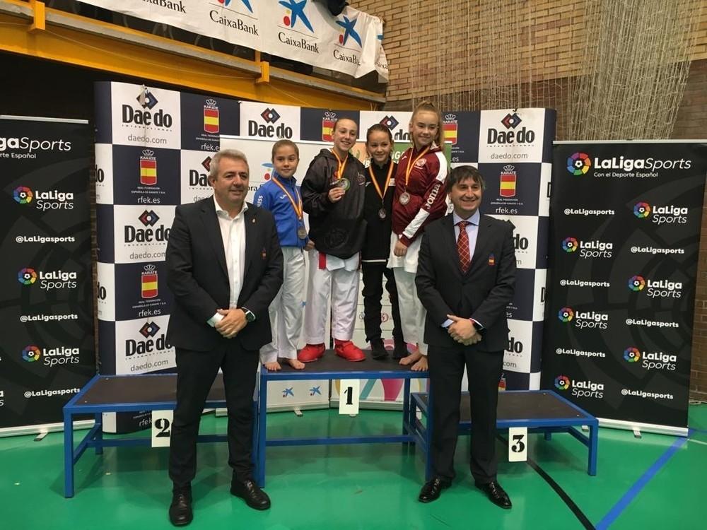 Ávila suma cuatro medallas en la Liga Nacional Infantil