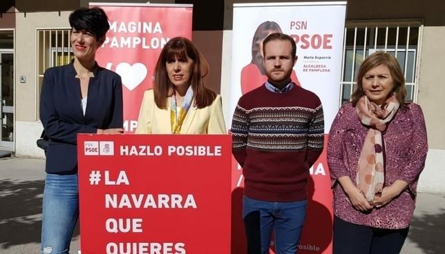 Esporrín plantea crear una concejalía para personas mayores PSN Pamplona