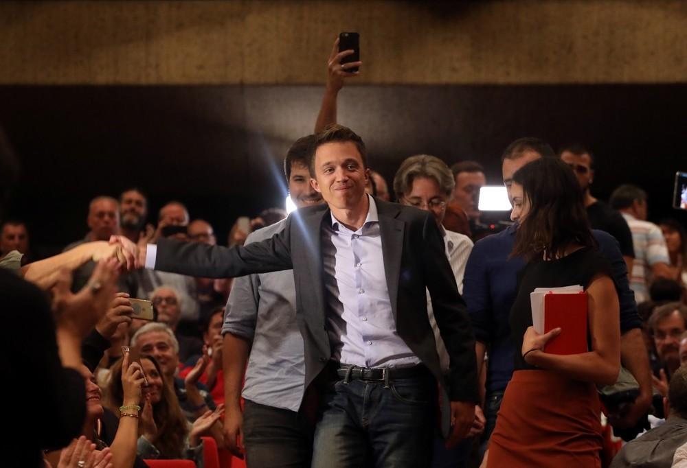 Errejón confirma su candidatura para las elecciones del 10-N