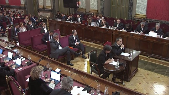 Los presos electos estarán en la constitución de las Cortes Tribunal Supremo