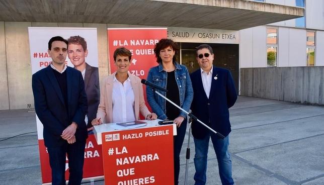 Chivite propone una Ley de Salud para modernizar la sanidad PSN-PSOE