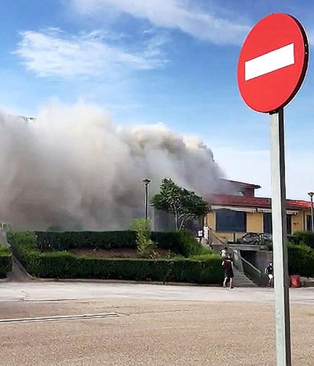 Desalojan el hotel de Los Balbases por un incendio