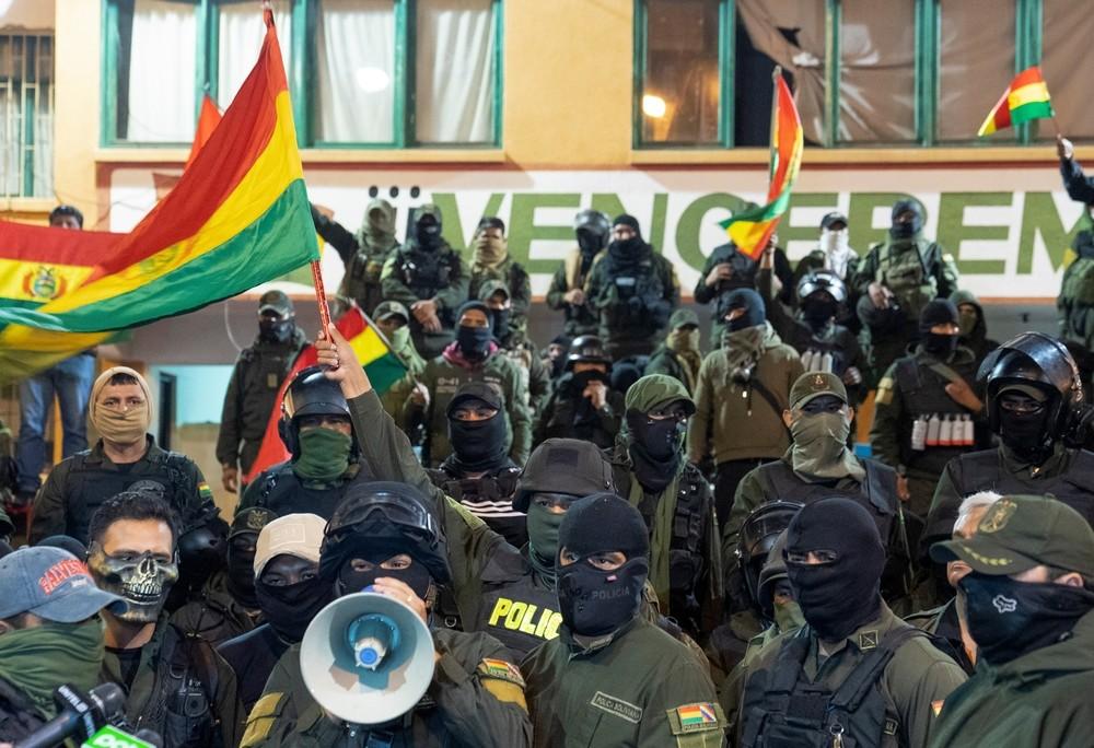 La Policía de Bolivia se amotina en contra de Evo Morales