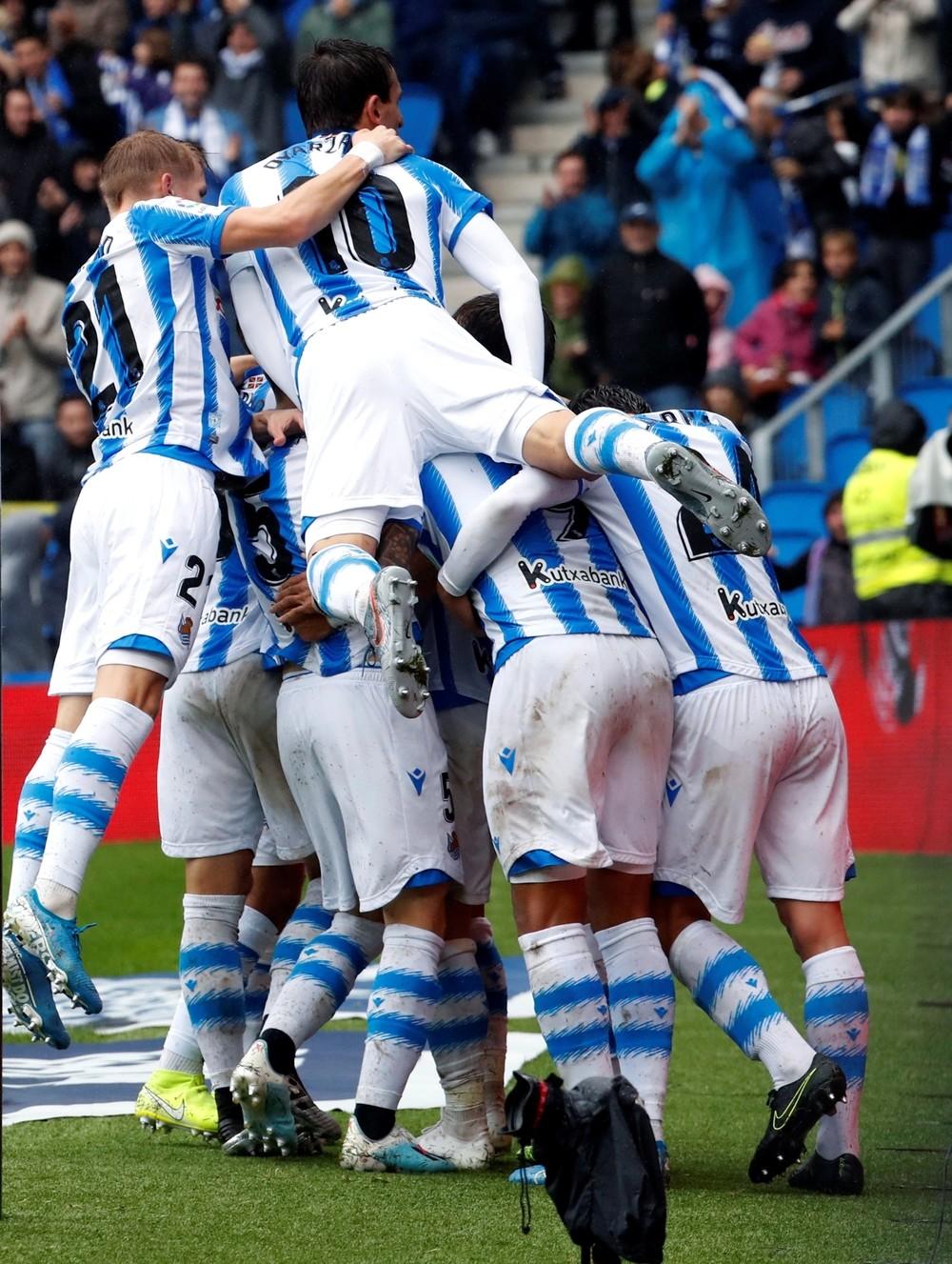 La Real Sociedad recupera la senda de la victoria