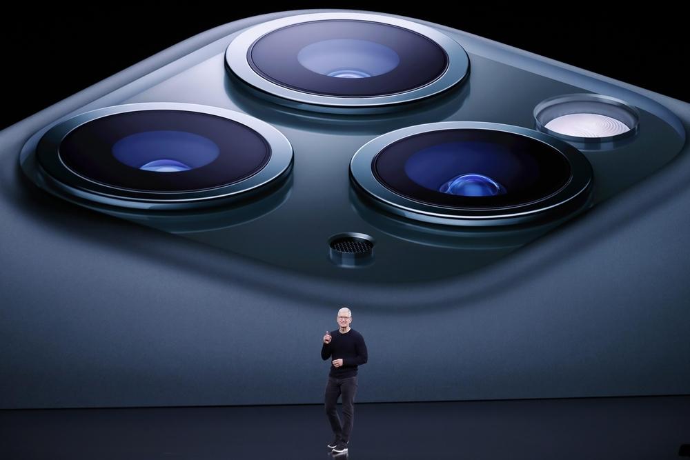 El nuevo iPhone 11 Pro tiene tres lentes traseras y modo noche