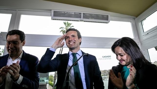 Casado acusa a Sánchez de usar el maltrato a su favor jesus Prieto