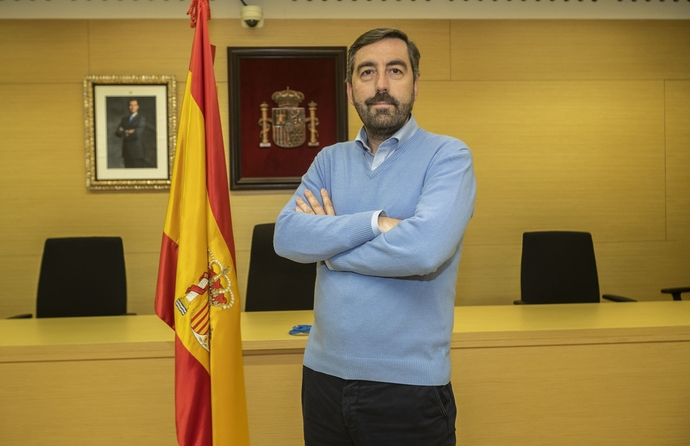 José María Ortega, periodista del Tribunal Superior de Justicia