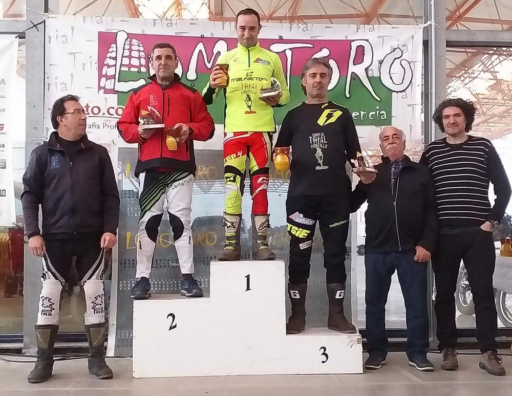 Tres podios del Portillo en Plasencia
