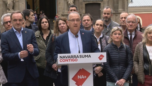 "Maya destaca que Navarra Suma es ""la alternativa fiable"""