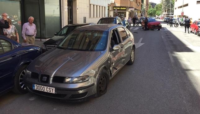 Imagen del accidente RUBÉN SERRALLÉ