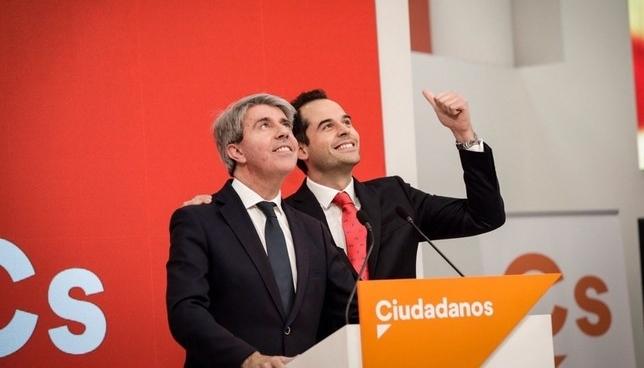 Ángel Garrido, de heredero de Cifuentes a candidato de Cs CIUDADANOS