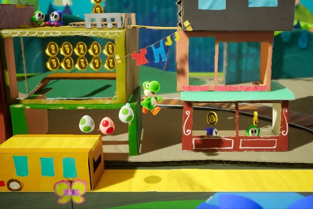 'Yoshi's Crafted World'