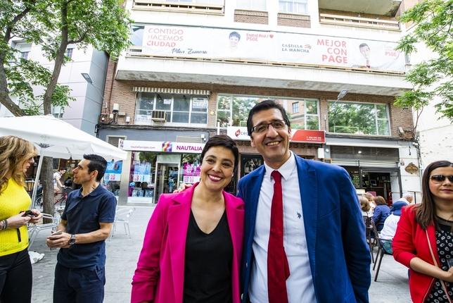 Pilar Zamora y José Manuel Caballero Rueda Villaverde