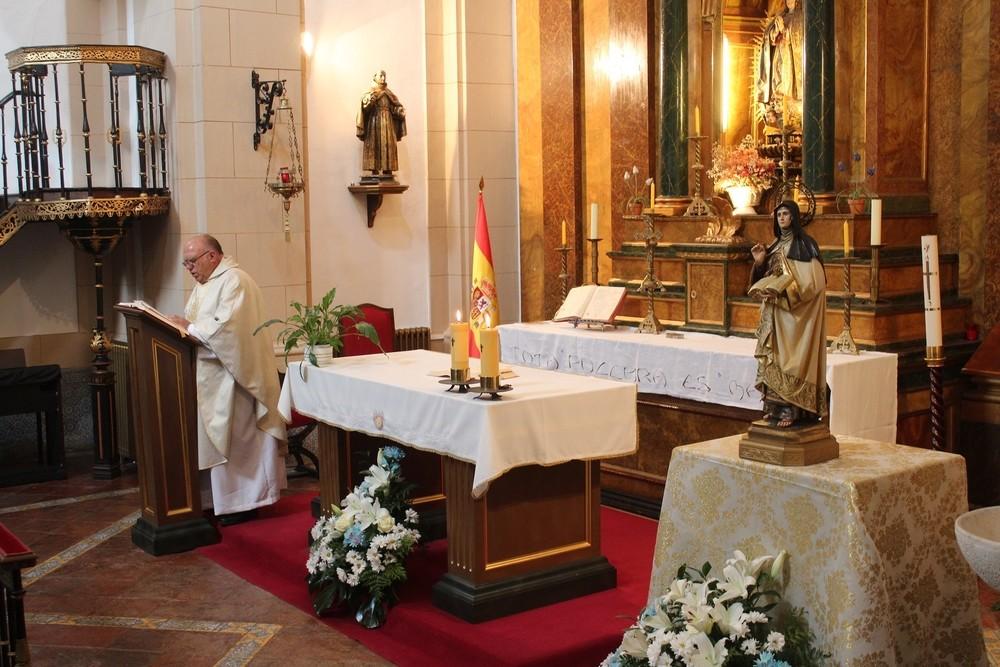 El Ejército celebra Santa Teresa, patrona de la Intendencia