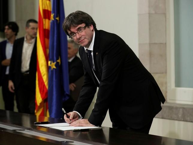 Excluyen a Puigdemont, Comín y Ponsatí de las europeas Albert Gea