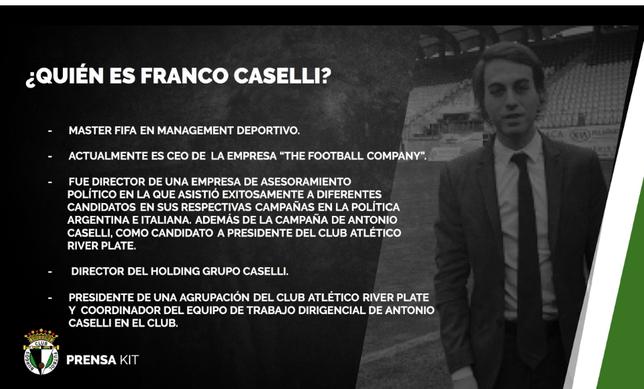 Quién es quién en el proyecto Caselli