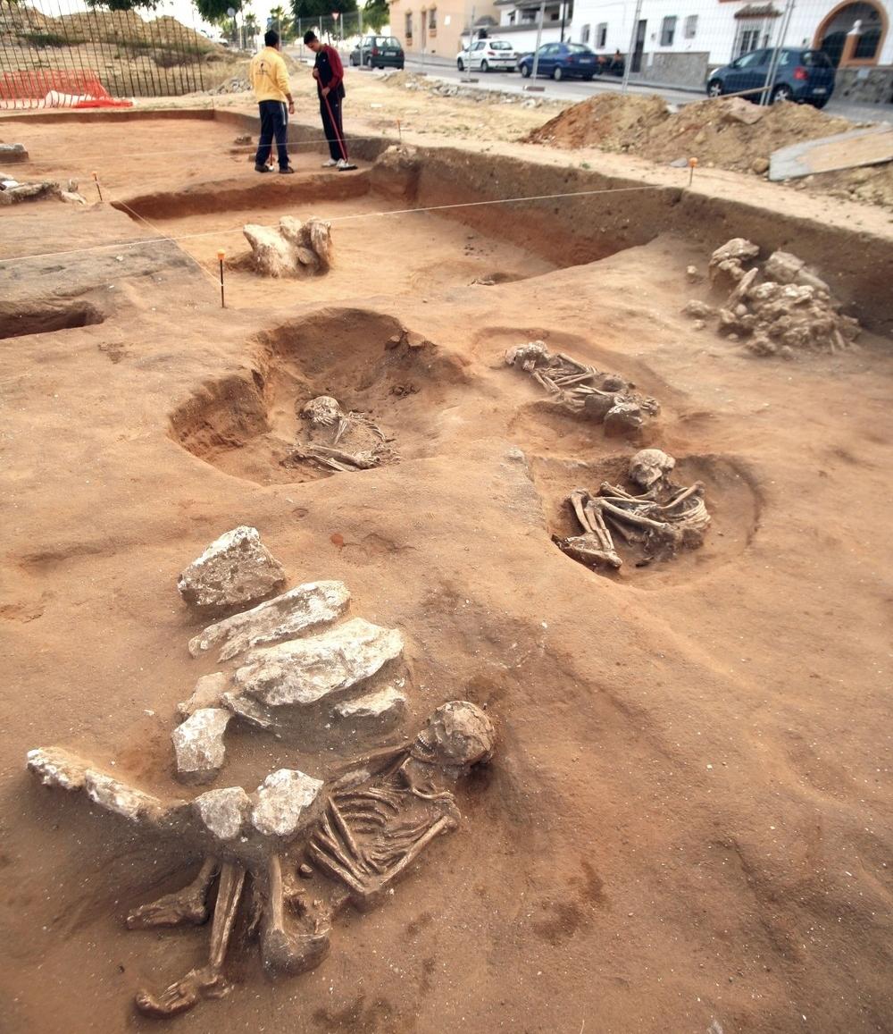 Un crimen de 6.000 años bajo un campo de hockey