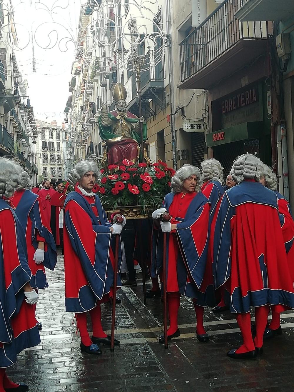 Pamplona celebra su patrón San Saturnino