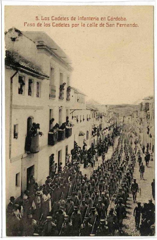 Los cadetes de la Academia de ronda: El Escorial y Córdoba