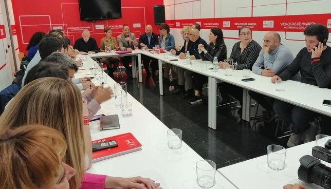"PSN: ""No aceptaremos chantajes de Navarra Suma ni de Bildu"" NATV"