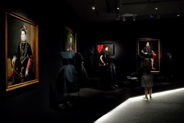 Balenciaga dialoga con los grandes de la pintura