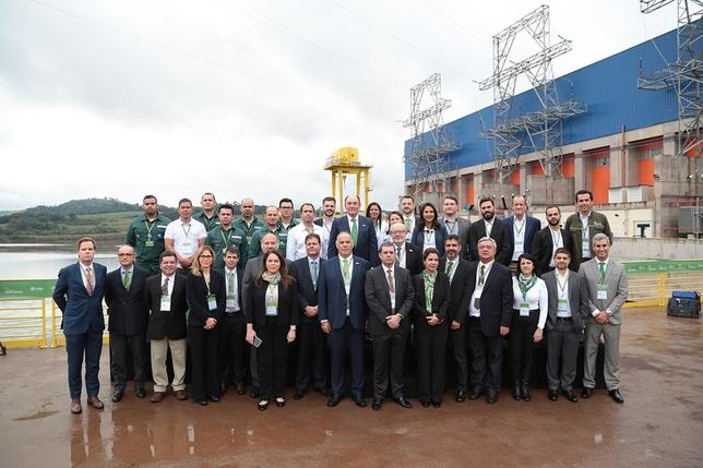 Iberdola inaugura la central hidroeléctrica de Baixo Iguaçu