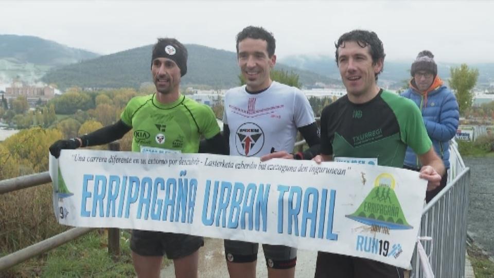Zarranz y Fdez. de Olano ganan la IV Erripagaña Urban Trail