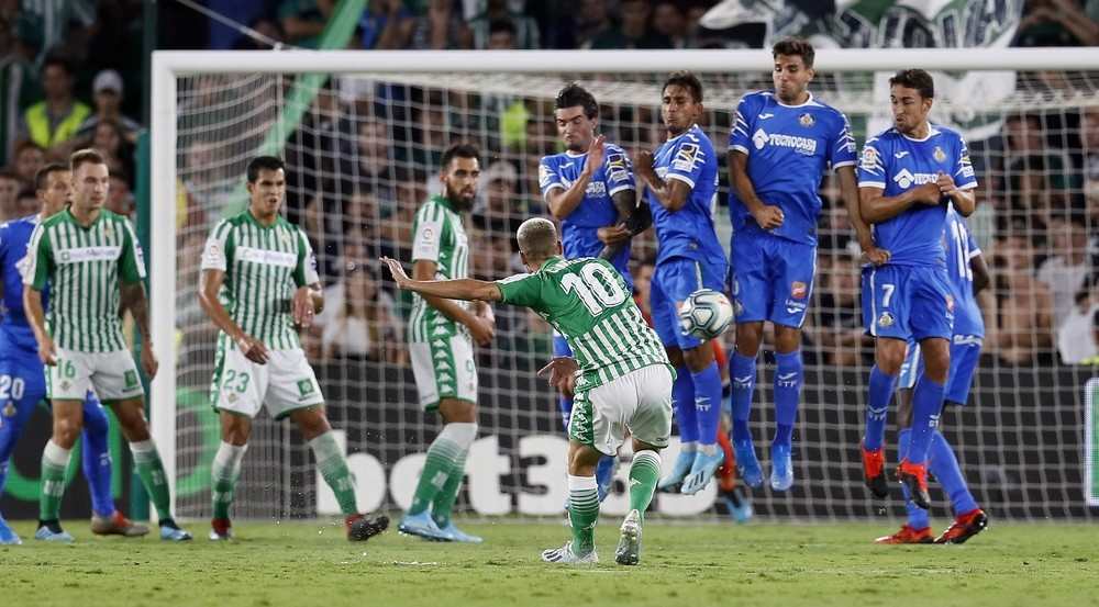 El Betis salva un punto y evita la primera victoria del Getafe