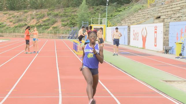 La velocidad soriana se llama Ashley Abaga
