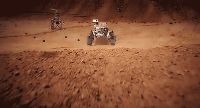La NASA afina el diseño del helicóptero que enviará a Marte Sebastian Carrasco