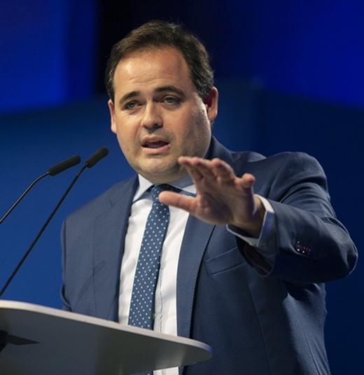 El presidente del PP castellano-manchego, Paco Núñez.