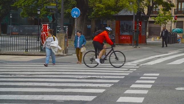 Pamplona pone en marcha un modelo de movilidad sostenible Ayuntamiento de Pamplona
