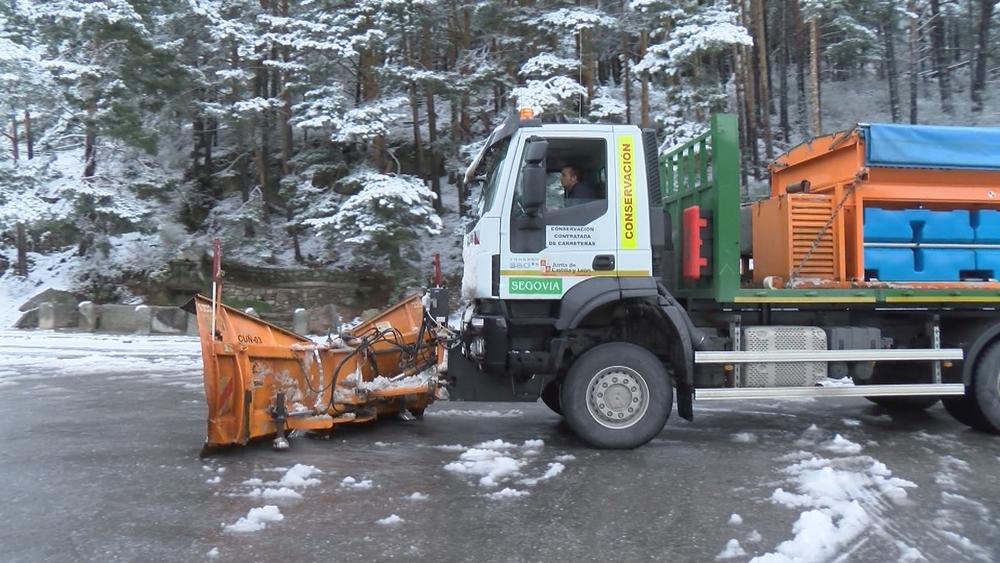 Precaución en las carreteras segovianas