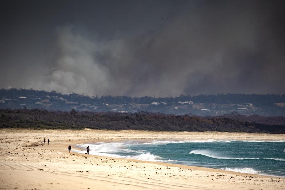 Los incendios forestales dejan dos muertos en Australia