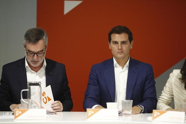 Ciudadanos rechaza la propuesta del PP de negociar con Vox CS