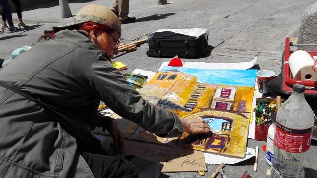 Ávila en el lienzo de 250 pintores