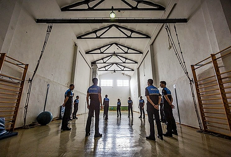 Academia de Policía Local de Valladolid.