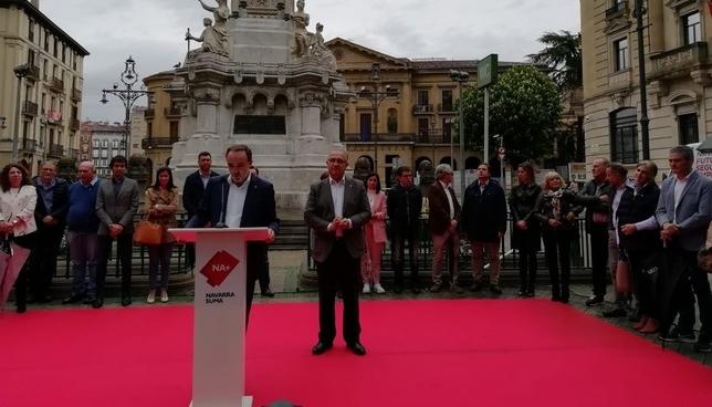 Navarra Suma abre campaña con los peligros del cuatripartito NATV-Sofía Urbiola