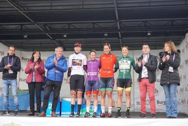 Stine Borgli se lleva la Vuelta a Burgos Féminas