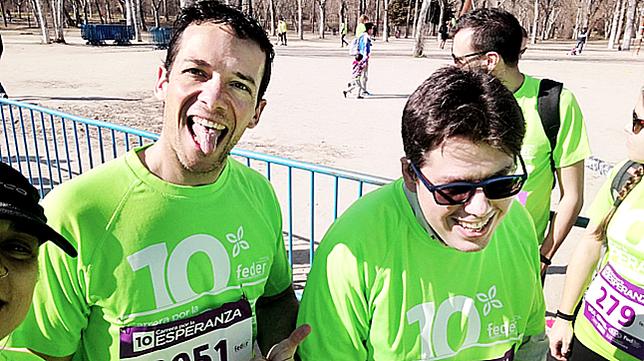 Pablo Medel y Marcos Pérez.