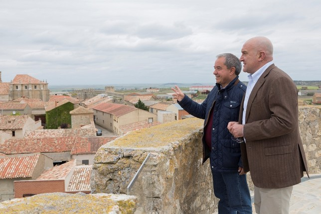 La Diputación abre al público un nuevo mirador en Urueña