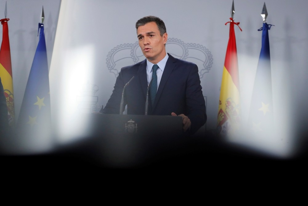 Sánchez avisa a ERC que solo PSOE y Podemos quieren diálogo