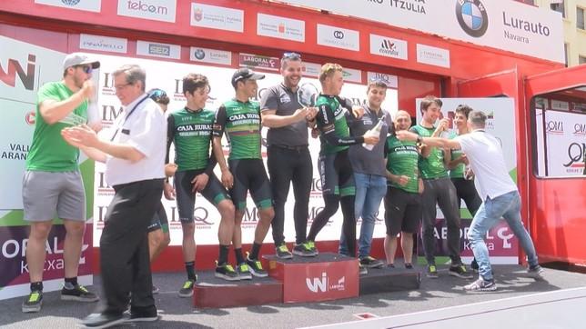 Caja Rural- Seguros RGA se proclamó vencedor por equipos