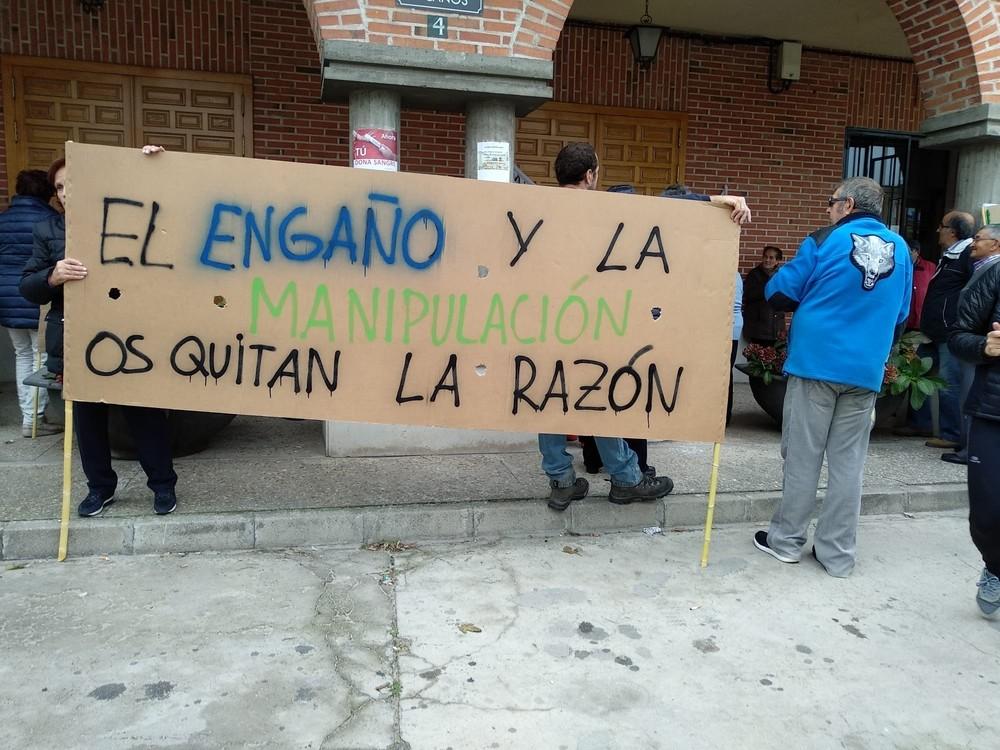 Polémica en Gomezserracín por la recarga del Carracillo